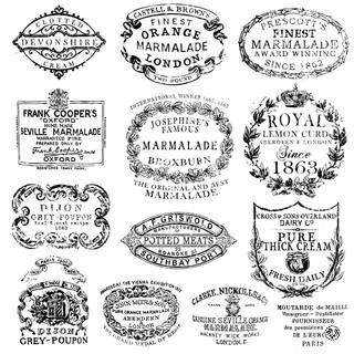 IOD Décor Stamp Crockery