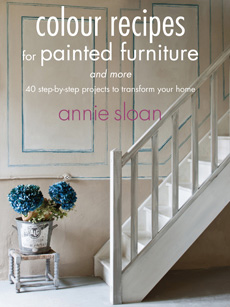 Kniha Colour recipes for painted furniture