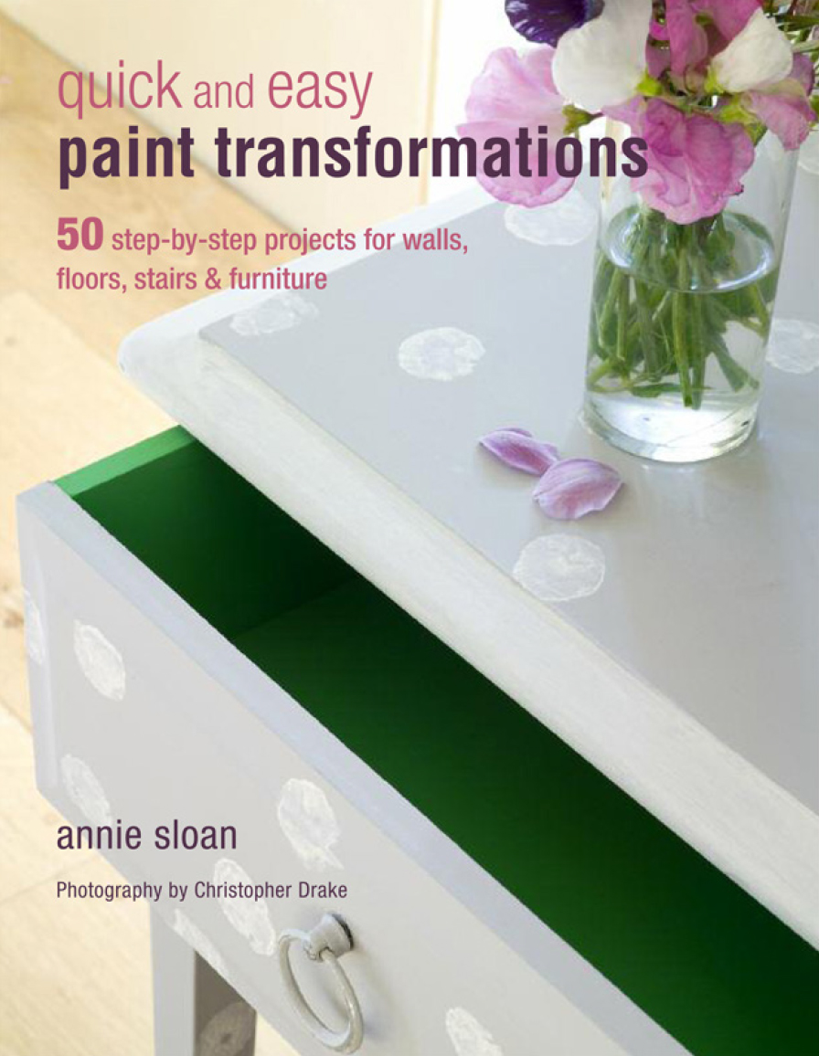 Kniha Quick and Easy Paint Transformations