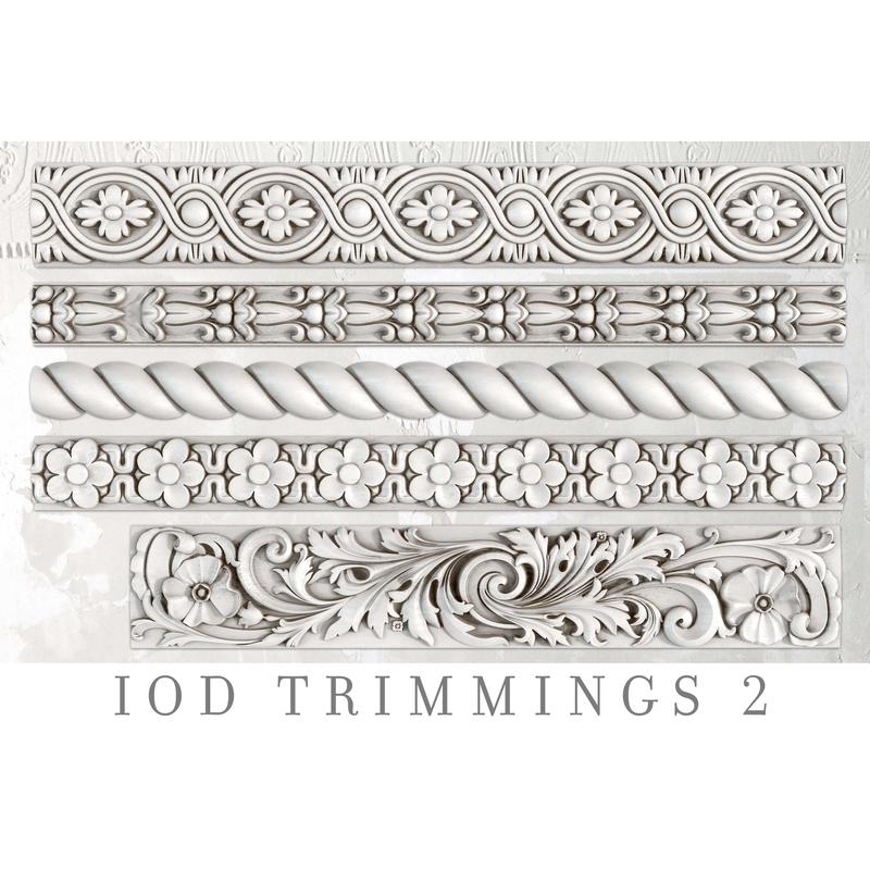 IOD Décor Mould Trimmings 2 - silikónová forma