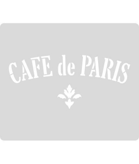 Šablóna Cafe de Paris