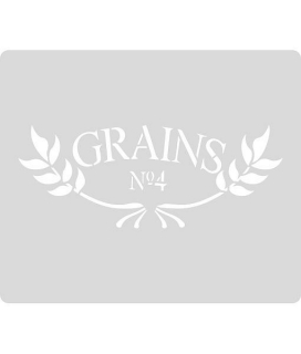 Šablóna Grains Craft