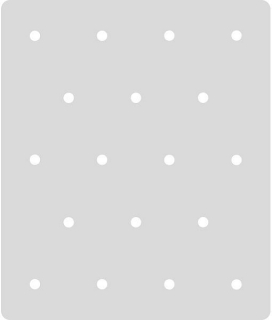 Šablóna Polka Dot Craft