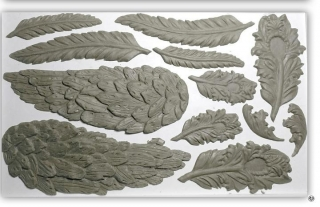 IOD Décor Mould Wings and Feathers