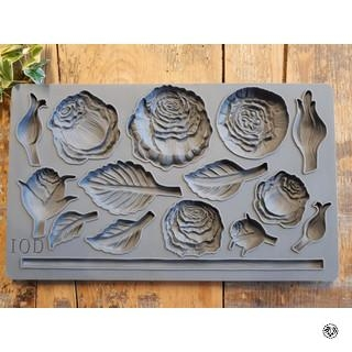 IOD Décor Mould Heirloom Roses